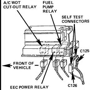 Ford Ranger Fuel Pump Relay Location
