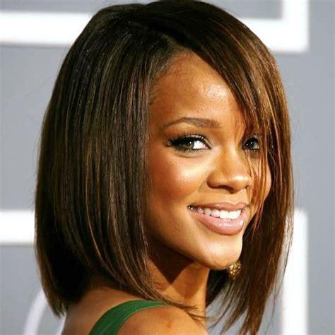 Rihanna Hairstyles For Girls Medium hair styles Short