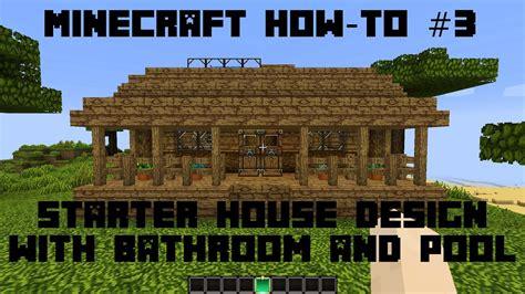 minecraft  small house design ideas tutorial easy