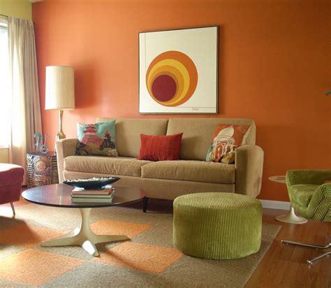 Color Ideas Orange by Orange Walls Living Room Designs Curtains Bright Orange