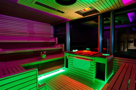 Event Sauna Illuminazione Led Lighting