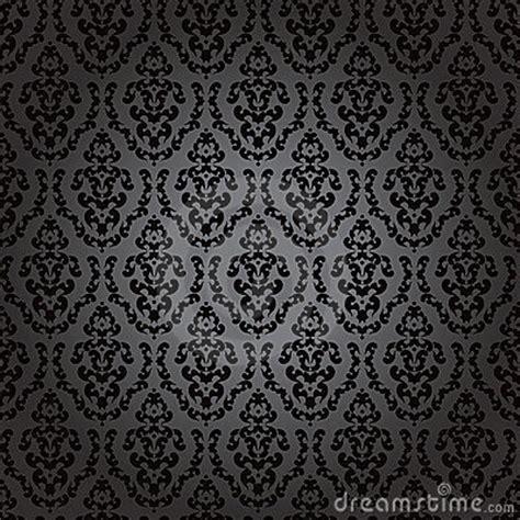 noir baroque de papier peint sans joint photographie stock
