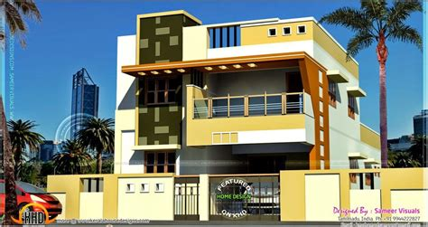 Home Design Gallery by Modern South Indian House Design Kerala Home Design Floor