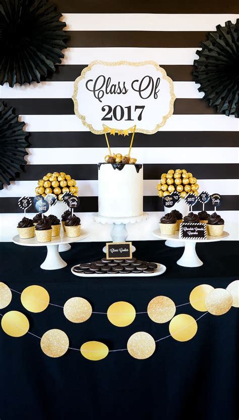 """Kara's Party Ideas """"be Bold"""" Black & Gold Graduation Party. Rooms In Atlanta Ga. Spa Room Dividers. Wrought Iron Garden Decor. Pottery Barn Fall Decor. Dining Room Furniture Sets. Book Title Room. Japanese Room Dividers. Decorations For Home"""