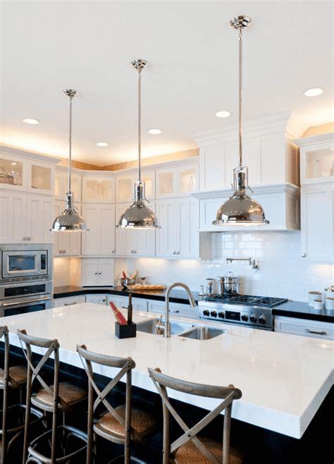 luminaire cuisine design îlot de cuisine et plan de travail 9 idées d 39 éclairage