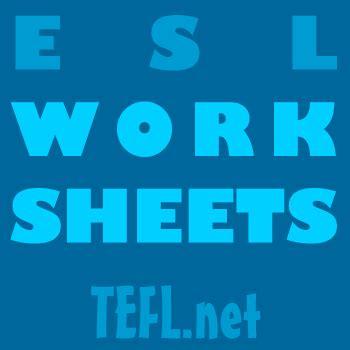 esl worksheets teflnet