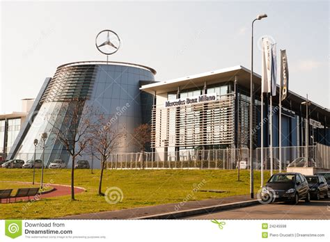 mercedes headquarter editorial stock photo image of