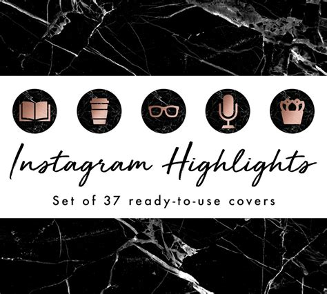 instagram story highlight covers instagram templates