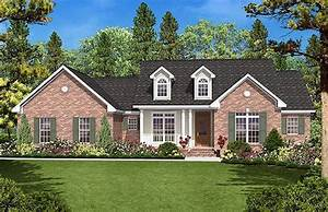 Country, Style, House, Plan, Ft, Plan