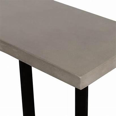Modrest Console Concrete Sharon Metal