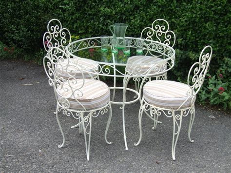 furniture antique wrought iron patio furniture style