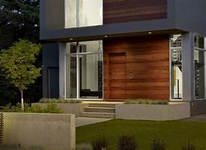 amenager une entree de maison moderne With entree de maison contemporaine