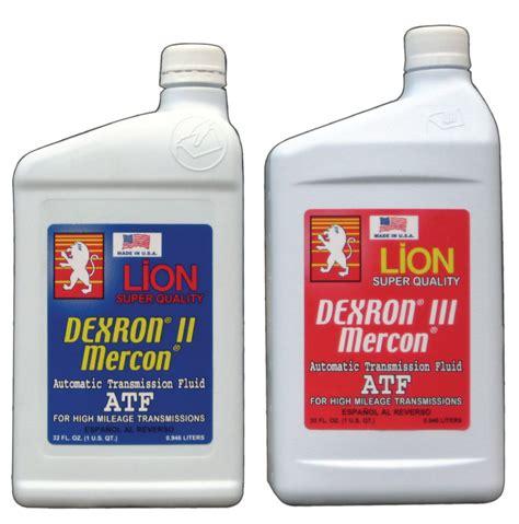Lion Dexron Iii / Mercon Atf Fluid /