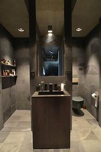 masculine bathroom bathrooms pinterest With manly bathrooms