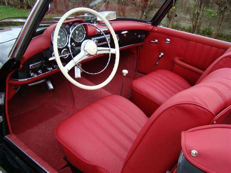 Interior Of 1961 Mercedes Benz 190sl