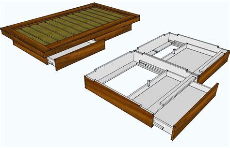 pin  alicia steadman  bed frames build  platform