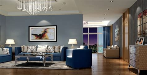 modern living room interior decorating ideas with blue leather sofa furniture iwemm7 com