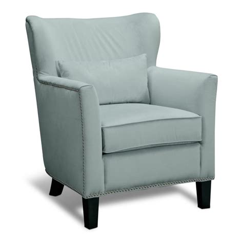 light blue accent chair furniture light blue fabric accent chair with back and