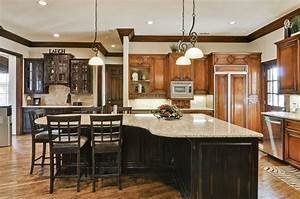 l shaped kitchen island with seating home design With l shaped kitchen island designs with seating