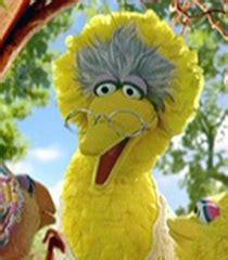 granny bird voice sesame street show