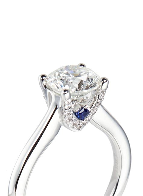 lyst vera wang love ice solitaire  diamond ring