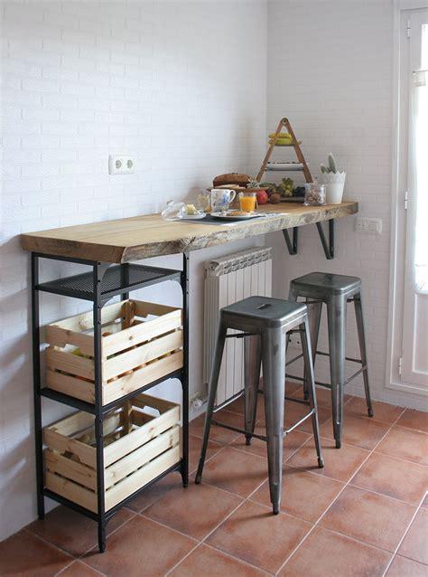 diy barra de madera raw  nuestra cocina decorar la cocina decoracion de cocina