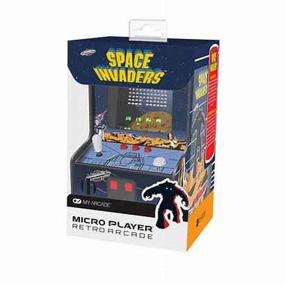 Player Micro Invaders Space Arcade Gameology Collectible