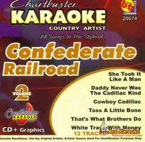 Railroad Never Was The Cadillac by Karaoke Korner Quot Confederate Railroad Volume 2 Quot