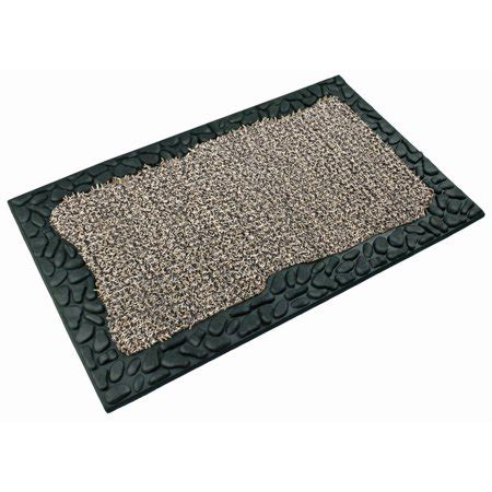 door mats walmart astroturf scraper door mat creek pebbles 18 quot x 30
