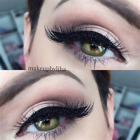 pretty eye makeup   green eyes page    stayglam