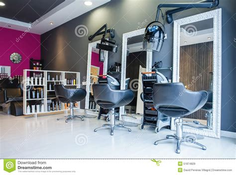 Barber Shop Room Ideas by Interior Of Empty Modern Hair And Beauty Salon Stock Image