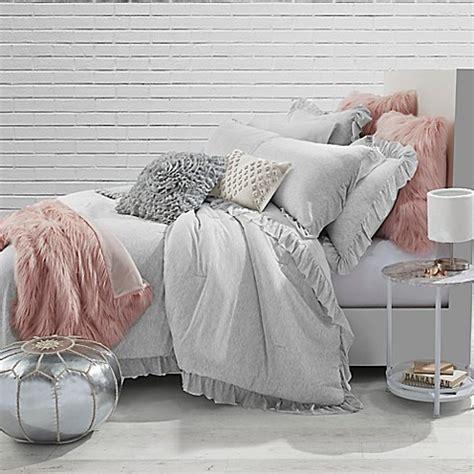 jersey comforter bed set jersey knit ruffle comforter set bed bath beyond