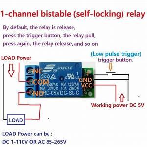 1ch 5v Latch Relay Module Flip