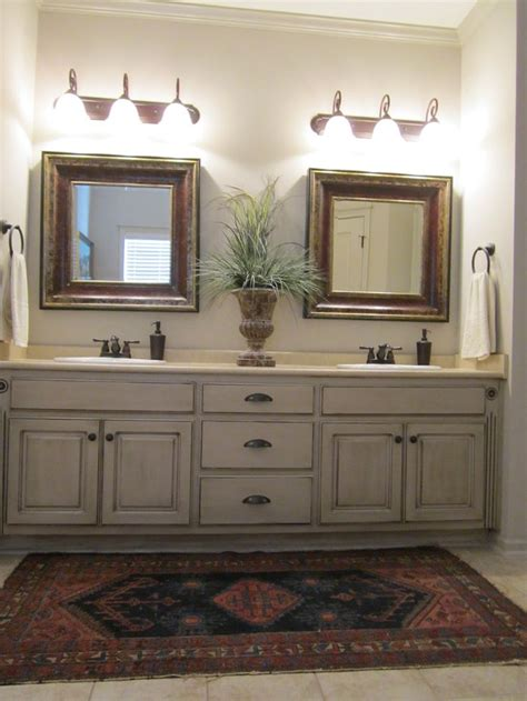 bathroom cabinet paint ideas painted and antiqued bathroom cabinets bathrooms