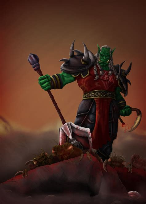 siege d orgrimmar high overlord varok saurfang by koborquez on deviantart