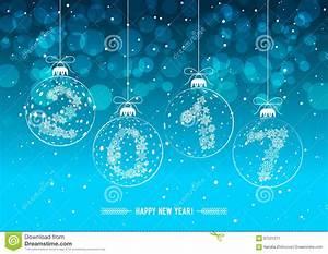 Decorations De Noel 2017 : boules de d corations de no l avec les sch mas 2017 illustration de vecteur image 67231371 ~ Melissatoandfro.com Idées de Décoration