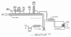Dixon Ztr 3362  1995  Parts Diagram For Wiring Assembly