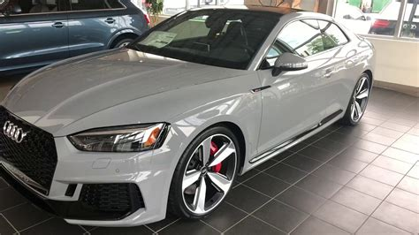 Audi Rs5 Grey by Audi Rs5 In Nardo Gray