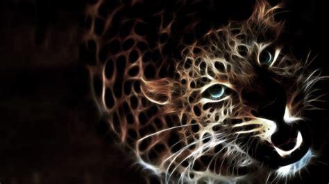 Glowing Animal Wallpaper - glowing leopard by plavidemon on deviantart