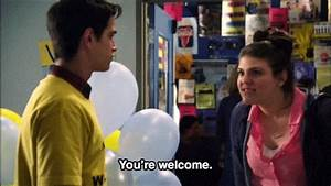 you're welcome molly tarlov gif | WiffleGif