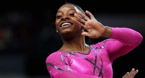 Gymnastics Spring Floor History by No Gabby Douglas No Worries Simone Biles Wows Us Women S