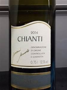 Lidl Chianti 2014 Wine Info
