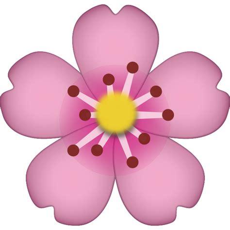 Download Cherry Blossom Emoji Icon  Emoji Island