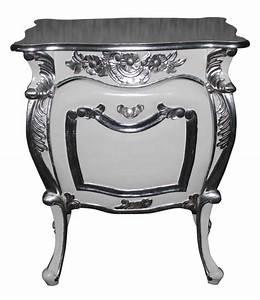 Table De Nuit Baroque : pin table de nuit chevet commode baroque en bois noir ~ Teatrodelosmanantiales.com Idées de Décoration