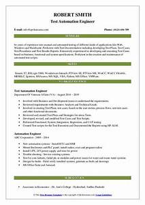 Collection Of Manual Testing Resume Sample For 5 Years