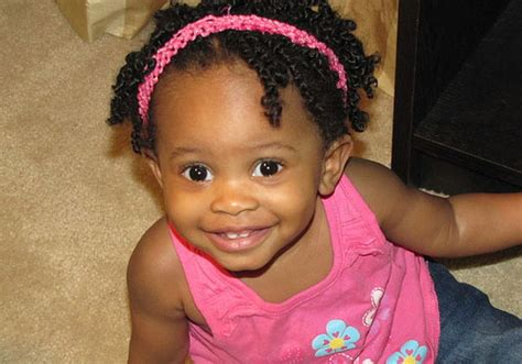 25 Adorable Hairstyles For Little Black Girls