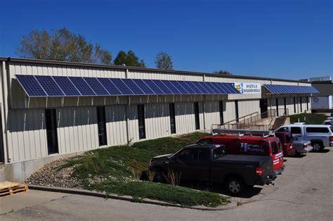 Solar Awning At 818 Post Road