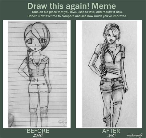 Draw This Again Meme - draw this again meme by marissa emily on deviantart