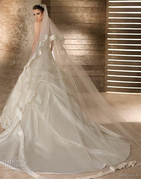 Fashion 2018 Wedding Veils Simple Elegant Long Bridals