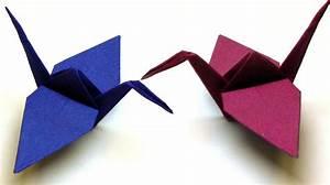 Origami Kranich Anleitung : origami tiere falten 03 kranich crane ~ Frokenaadalensverden.com Haus und Dekorationen